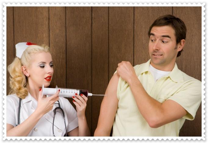 インフルエンザ予防接種で腫れる症状やかゆい副作用の原因は?