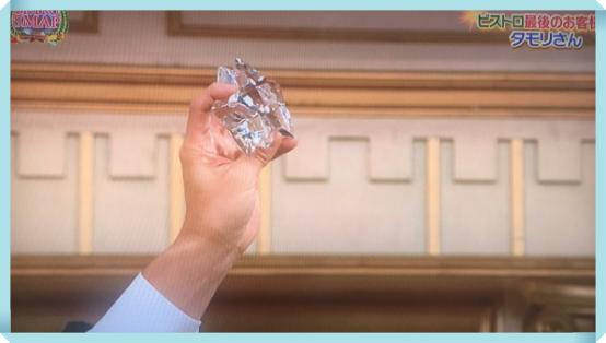 スマスマでタモリの五角形の星型プレゼントはバカラ!値段と通販!